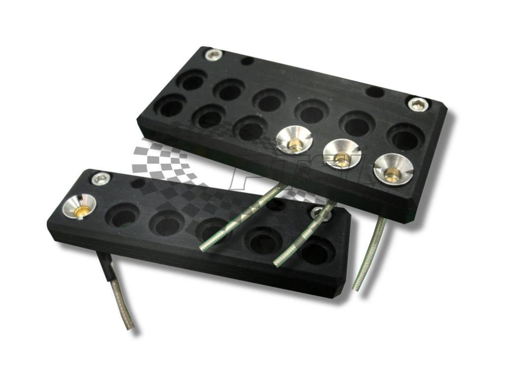 Teradyne Tiger Probe Card RF Bracket, 12 CONN & 6 CONN